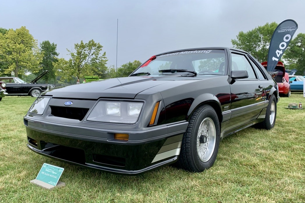 "1985 Ford Mustang Saleen ""Big Wing"""