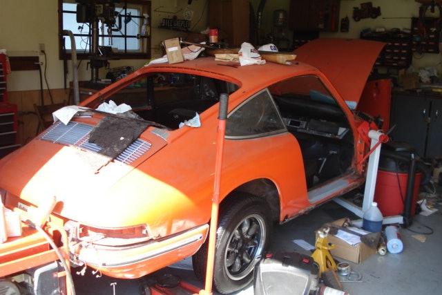 1967 Porsche 912 sunroof coupe