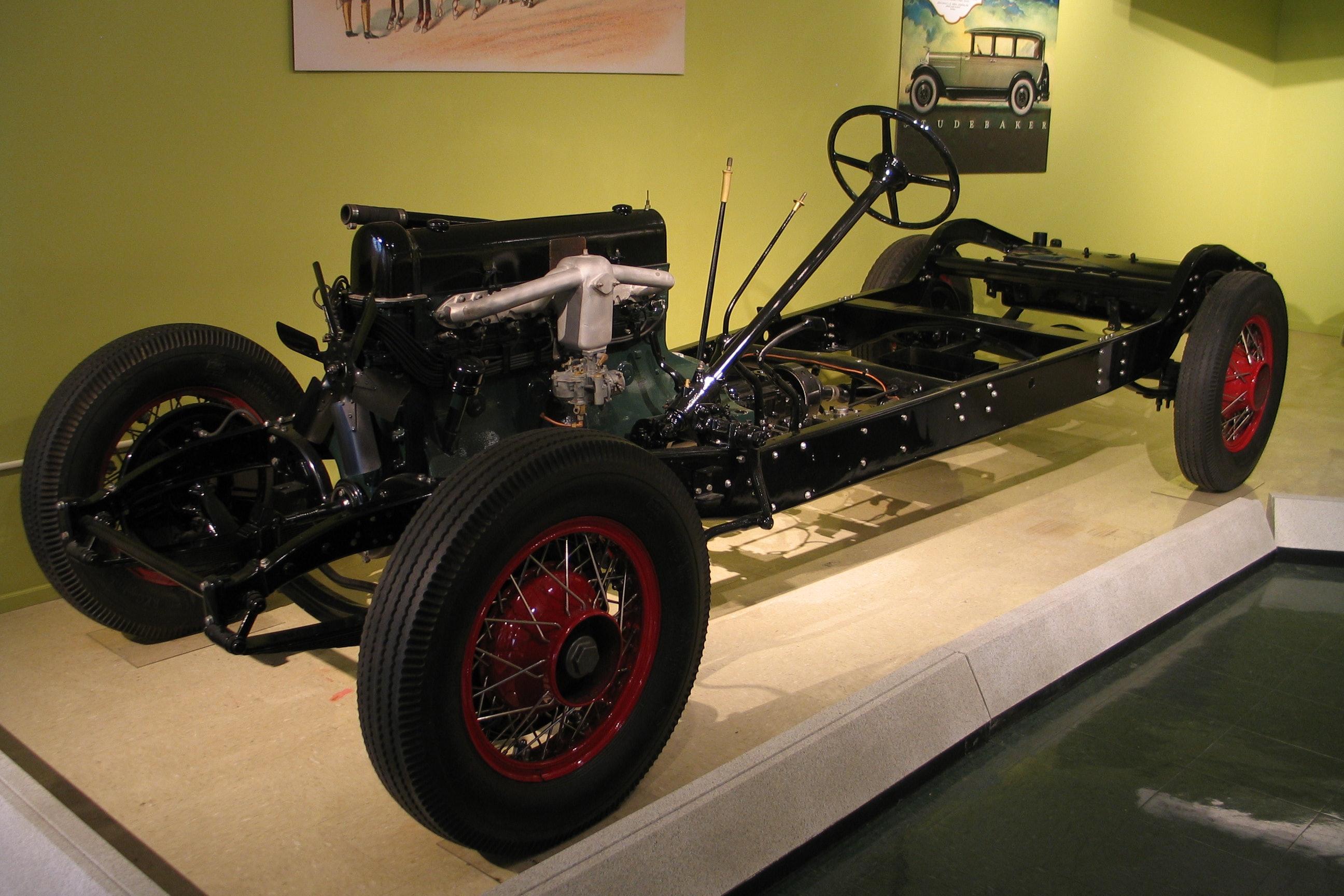 1931 Stutz SV-16 Chassis