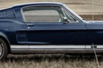 1967 Ford Mustang GT 'S-code'