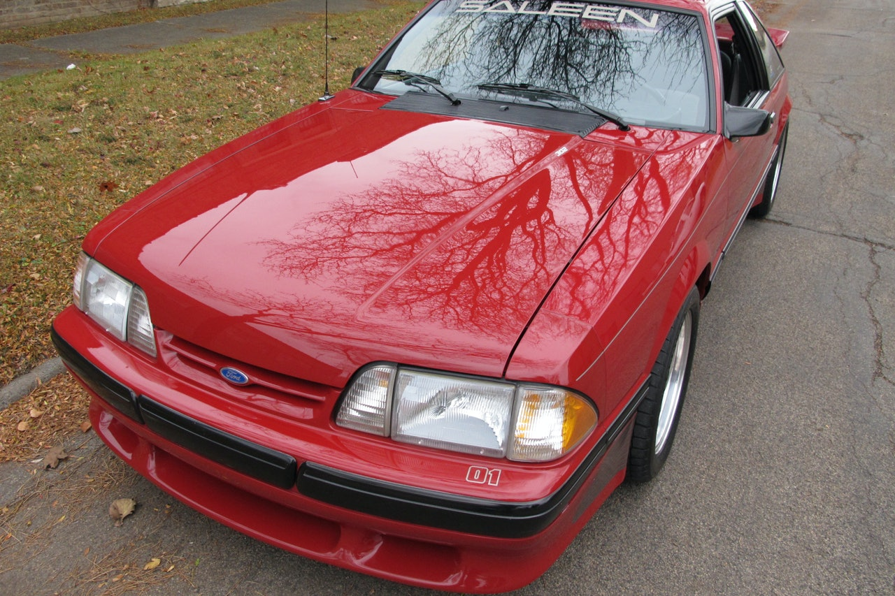 1988 Ford Mustang Saleen #01