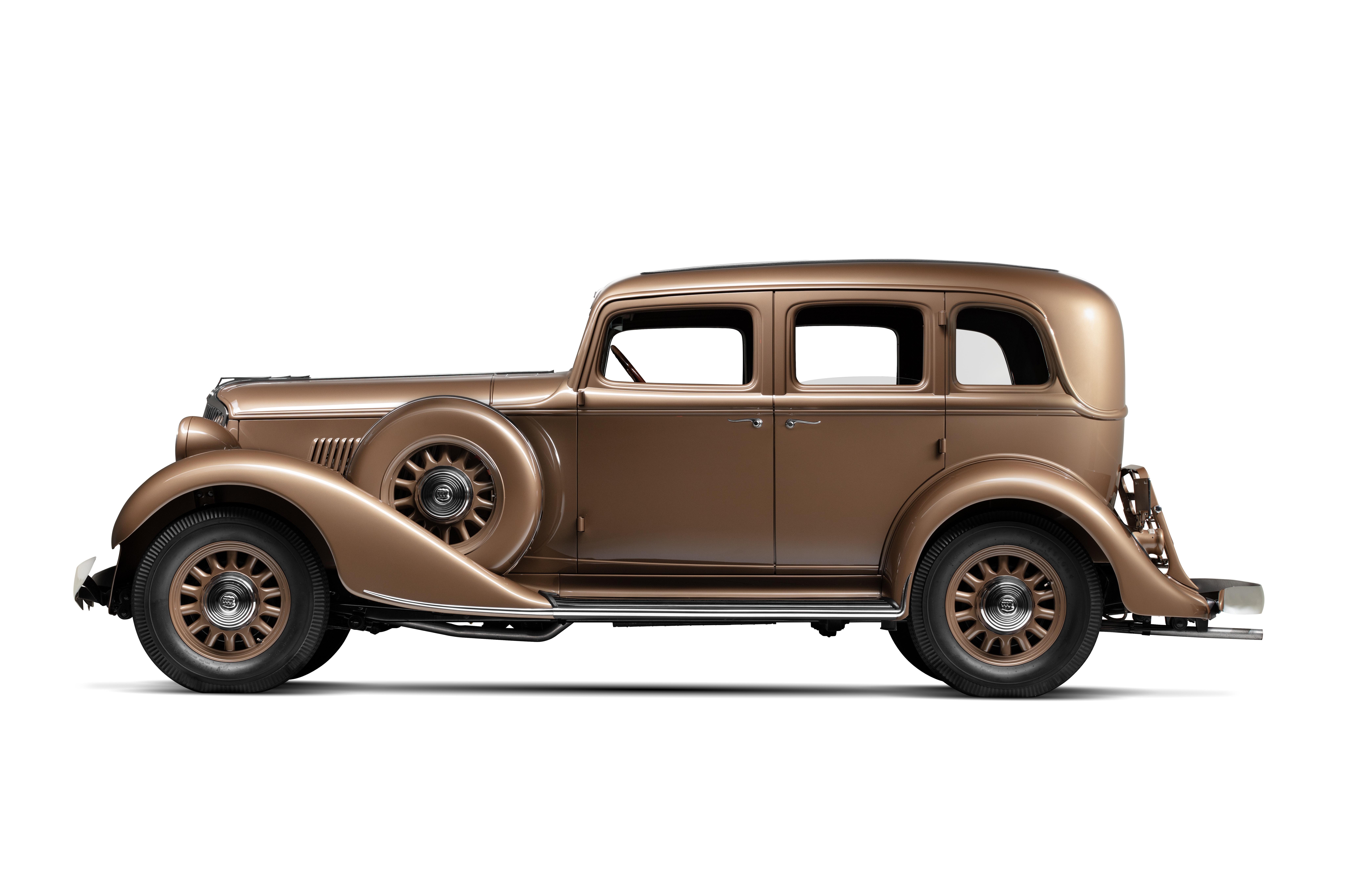 """1933 Graham 8 Sedan - """"Blue Streak"""""""