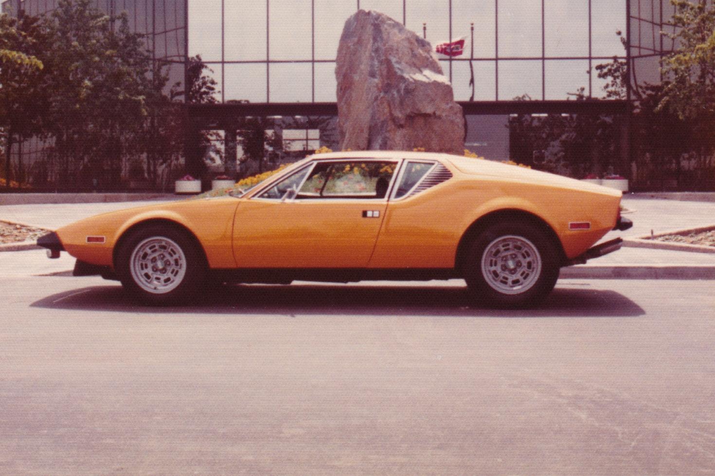 1972 DeTomaso Pantera-L
