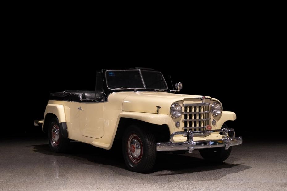 1950 Willys Jeepster VJ-3 663
