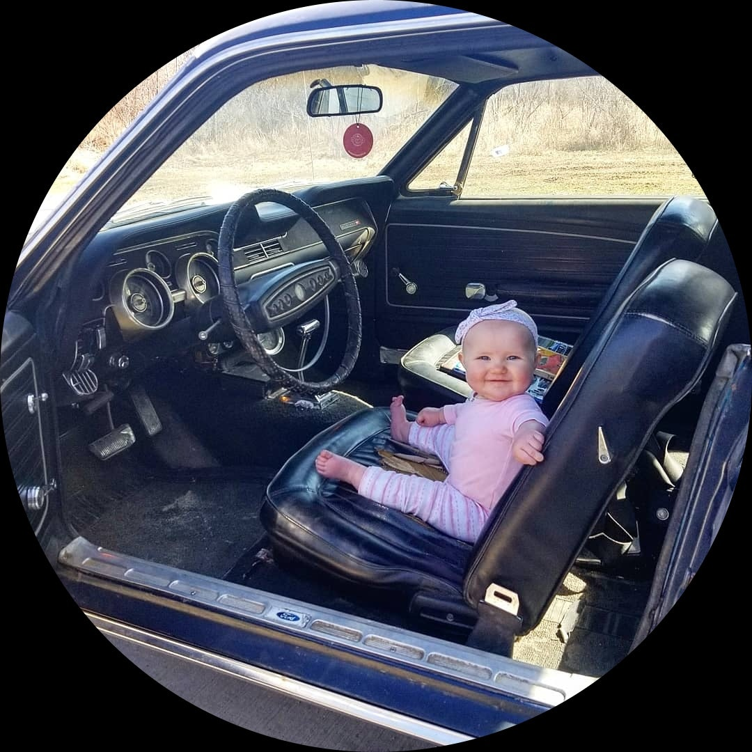 Owner of 1968 Ford Mustang