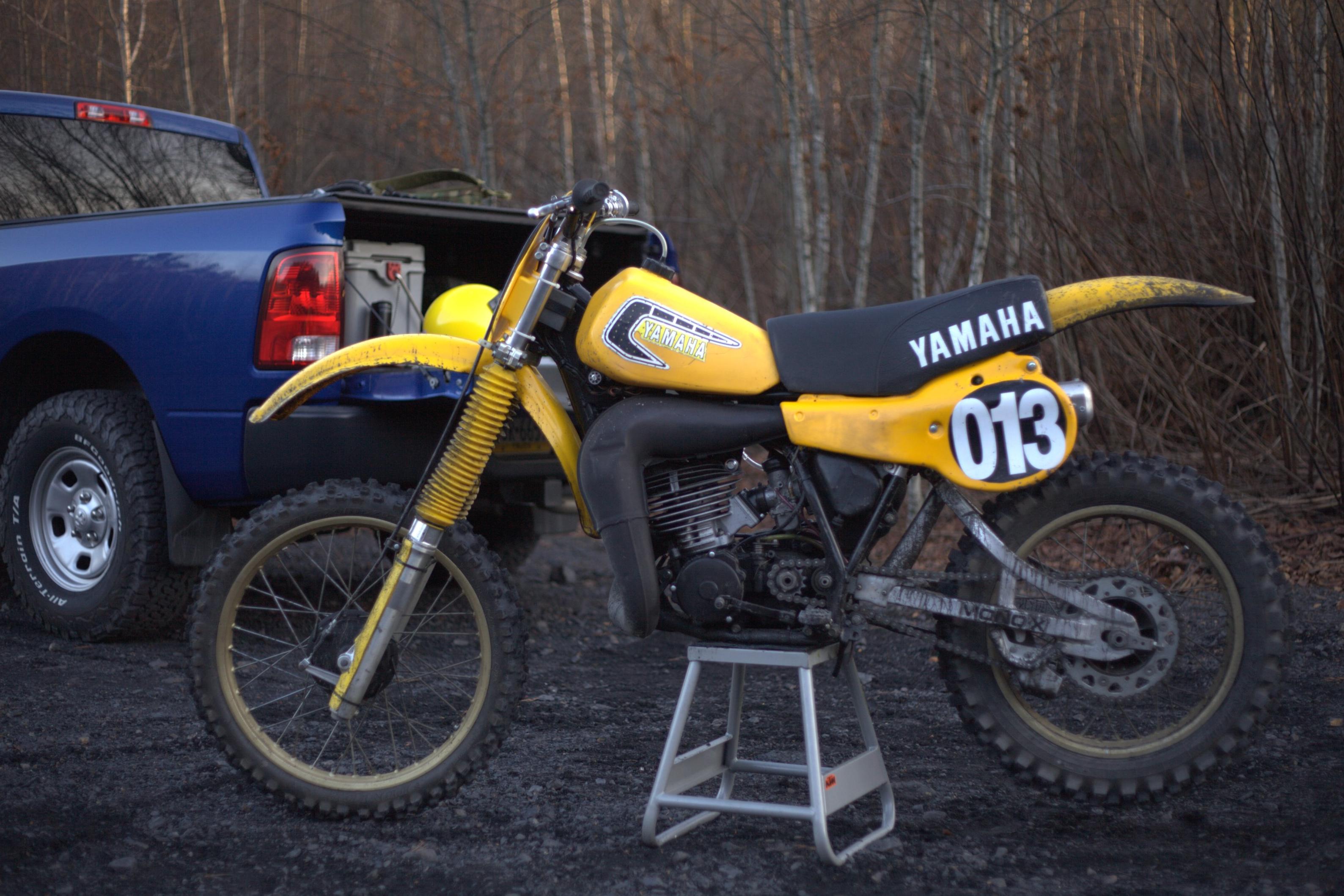 1981 Yamaha YZ250h