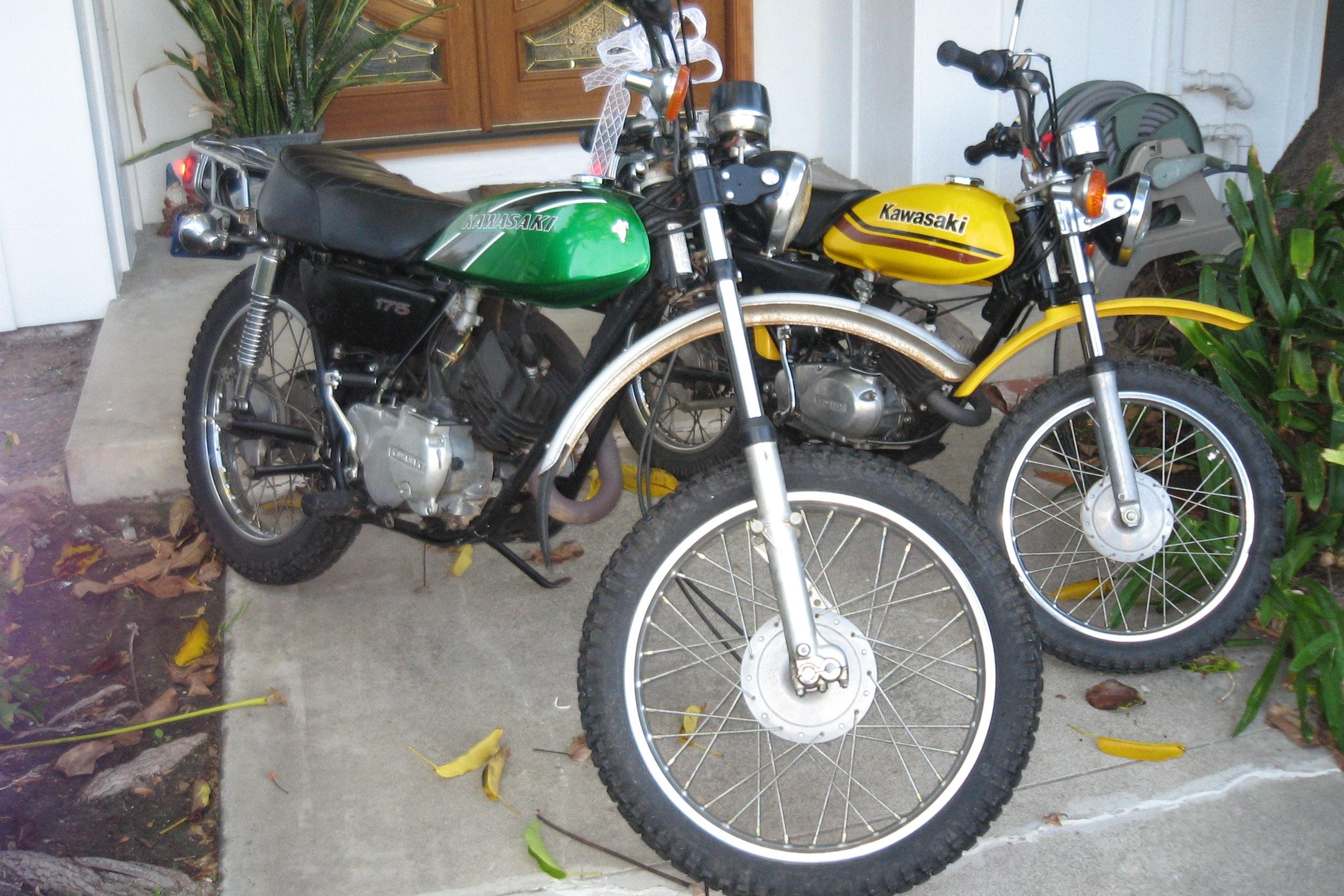 1975 Kawasaki F7