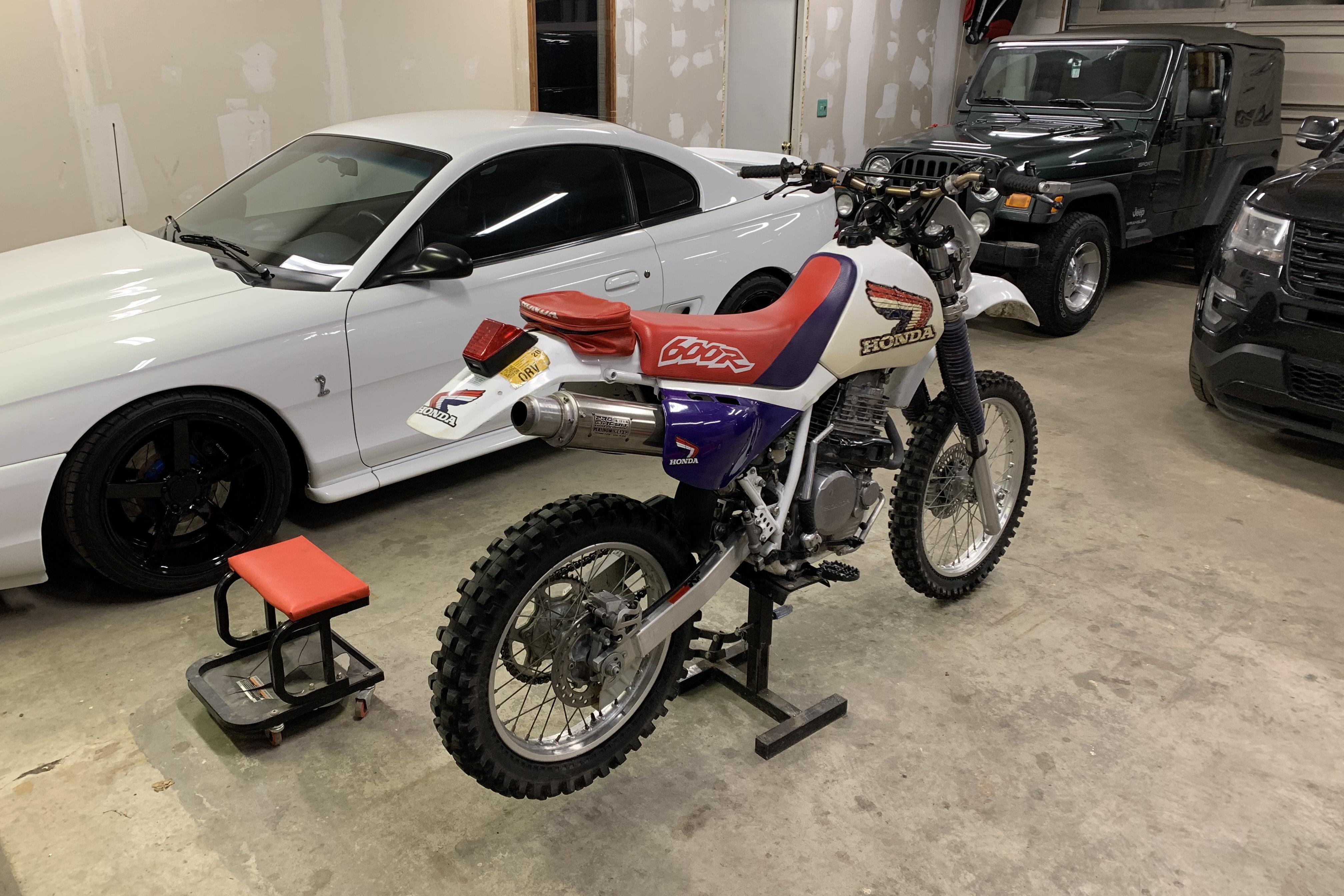 1996 Honda XR600R