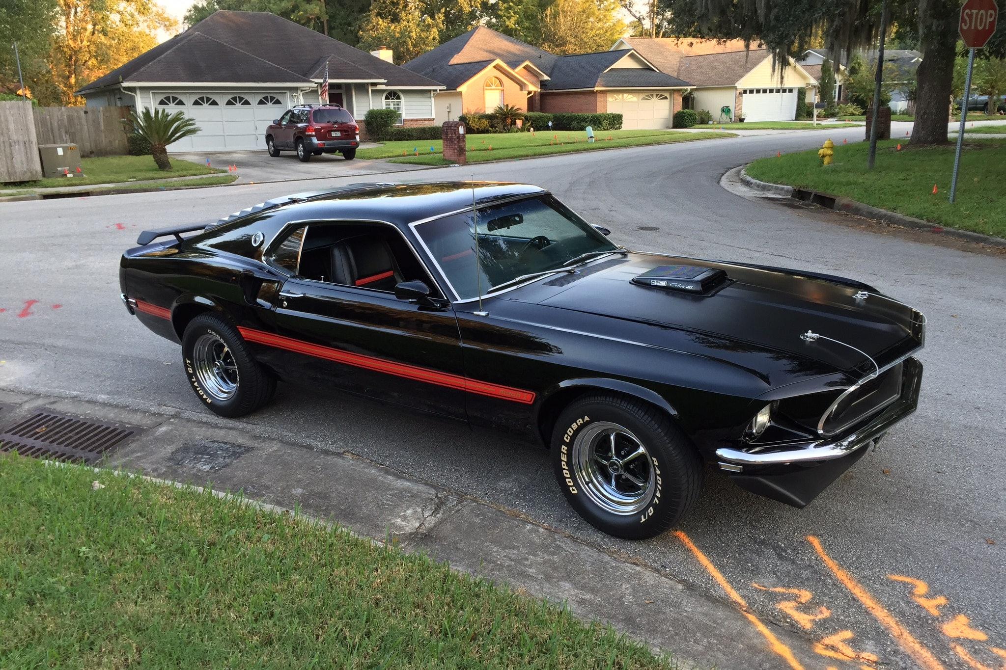 1969 Ford Mustang Mach1 428 CJ